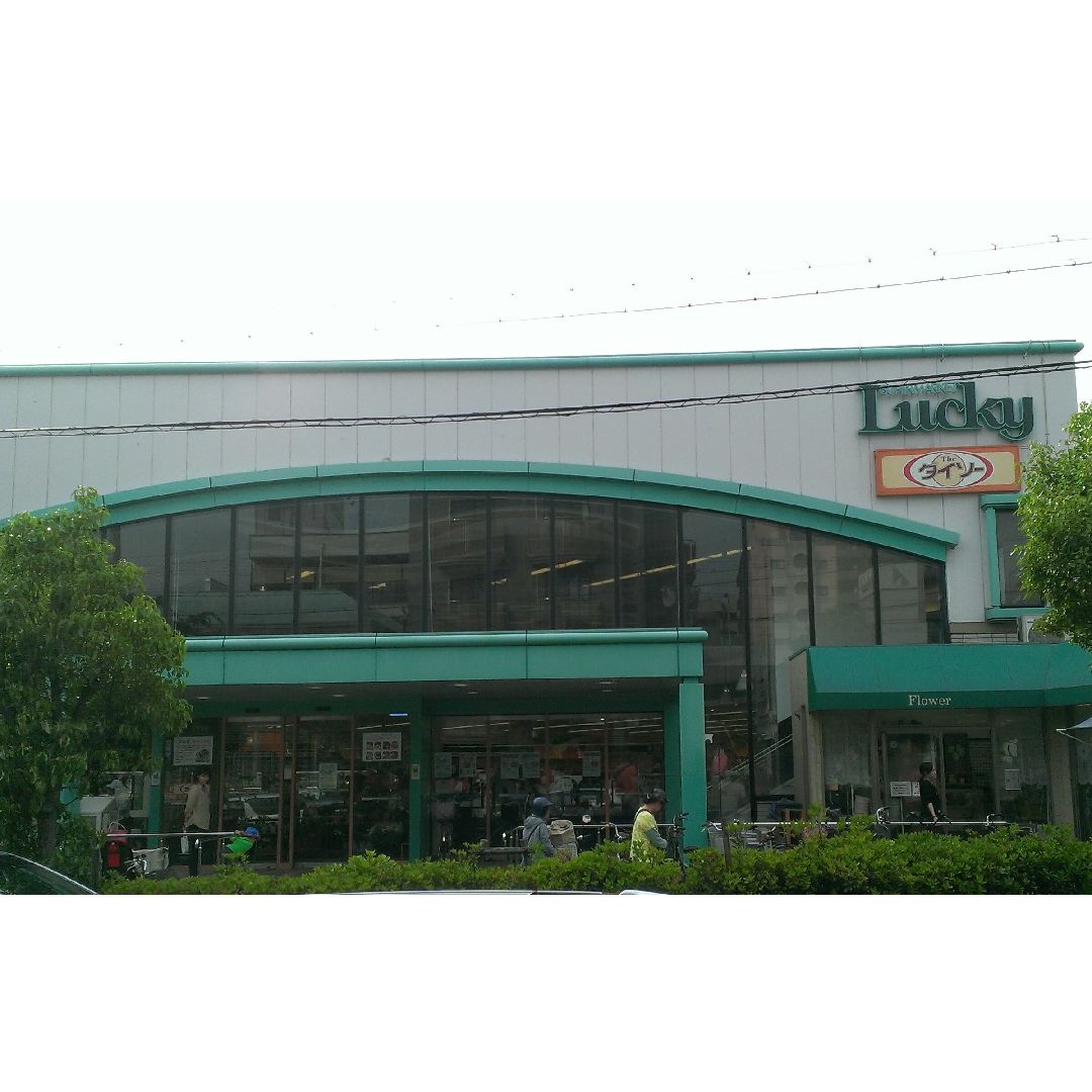 食品専門館 スーパー Lucky ダイソー